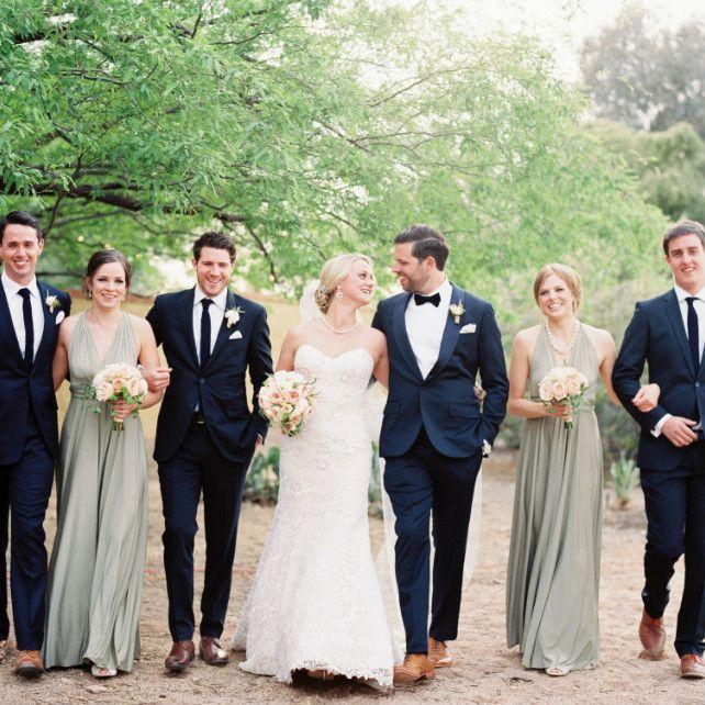 Дрес-код на весілля для гостей і молодят