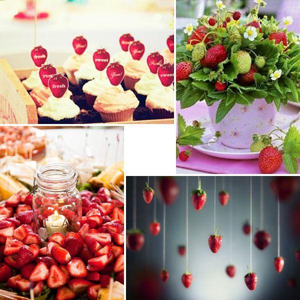 Ягідна весілля: оригінальні ідеї оформлення торжества, наповненого солодкими літніми ароматами