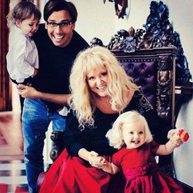 Максим Галкін показав фото своїх старших дітей