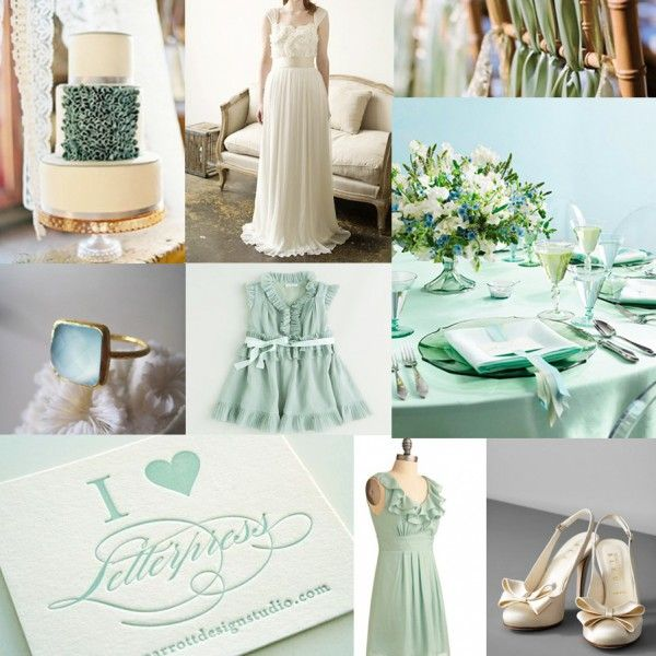 М`ятно-лавандова весілля - втілення чуттєвості і ніжності