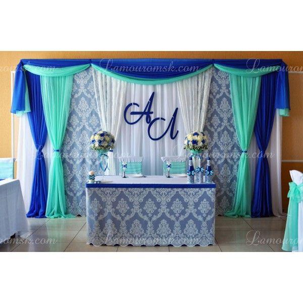 Оформлення синьою весілля: все що потрібно знати і приклади оформлення