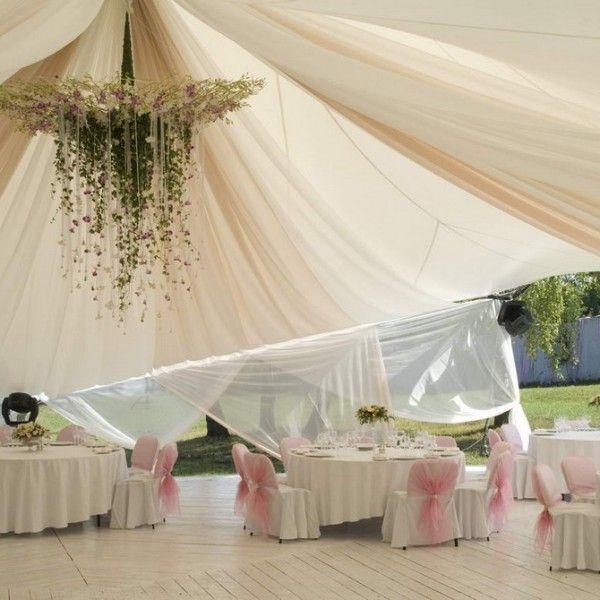 Оформлення весілля в шатрі: поради, ідеї і готові рішення