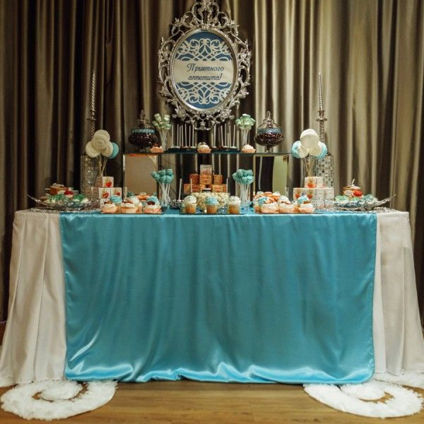 Солодкий стіл на весілля - підбираємо смачні частування