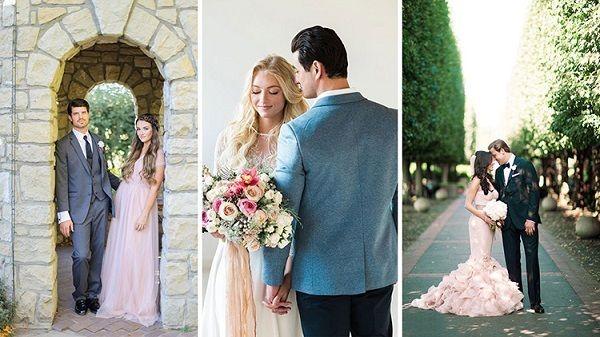 Весілля в кольорі рожевий кварц: ніжність і романтика