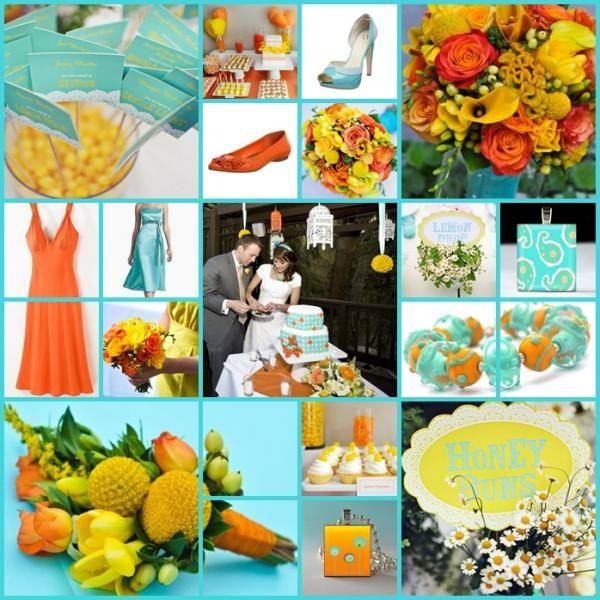 Весілля в яскравих кольорах: море позитиву