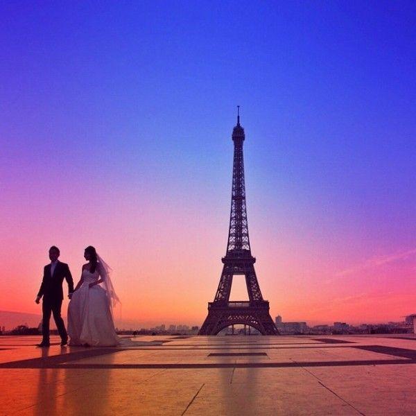 Весілля в Парижі - романтична ідилія для двох
