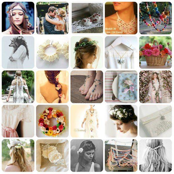 Весілля в стилі хіпі: наряди, антураж, фотосесія і місця проведення