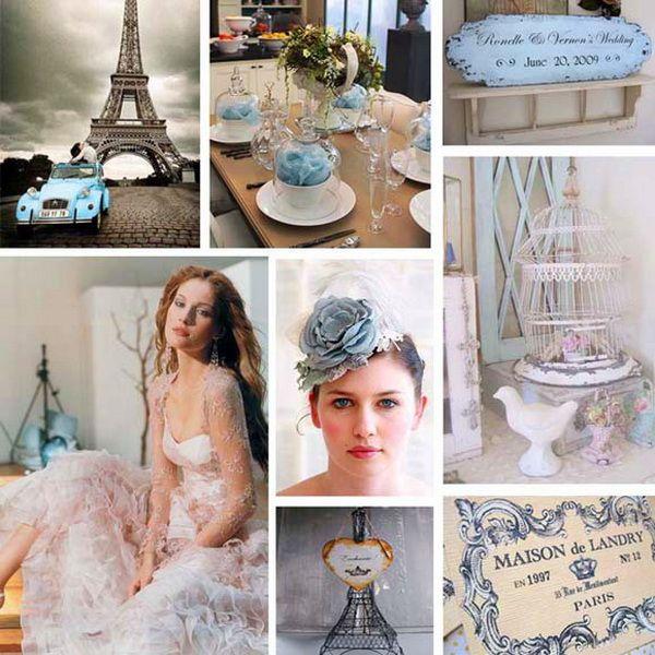 Весілля в стилі `паріж`: підготовка до торжества і оформлення