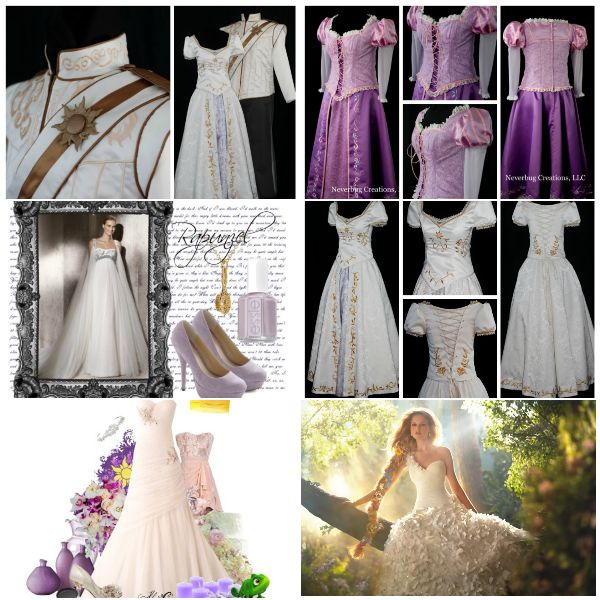Весілля в стилі рапунцель: казкова історія для прекрасної принцеси
