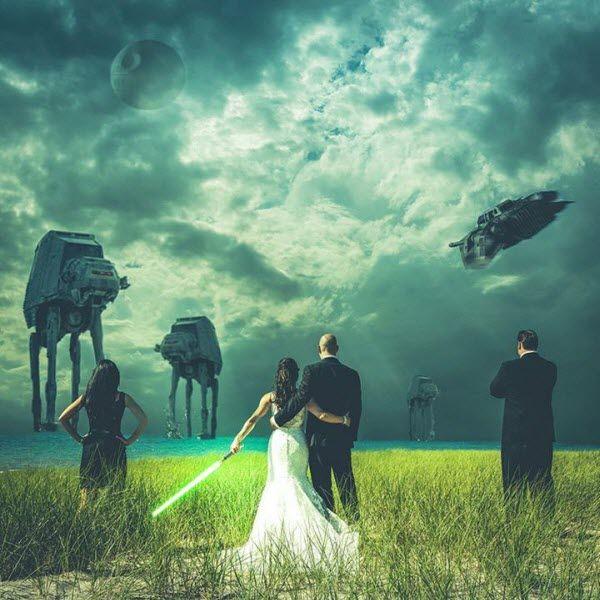 Весілля в стилі зіркових воїн: ідеї для тематичного торжества