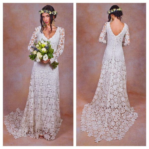 Весільна сукня в стилі рустик - витончена легкість і природність вінчального вбрання