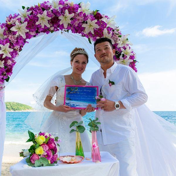 Тайська весільна церемонія: тропічний рай