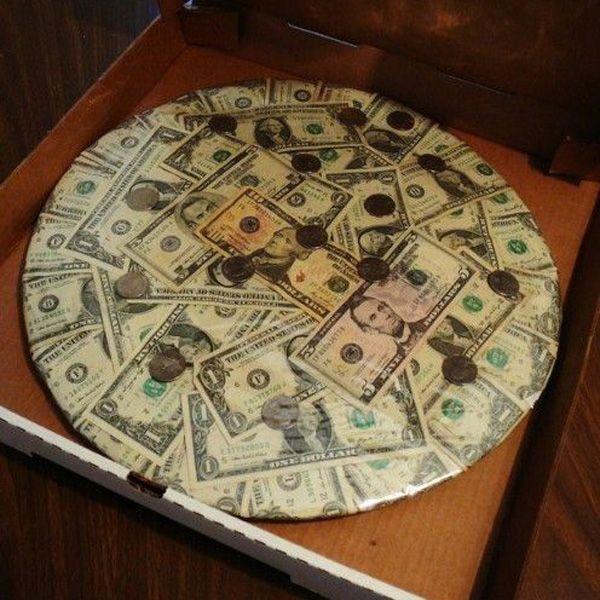 Торт на весілля з грошей: як виготовити такий торт своїми руками і привітати молодят при його врученні