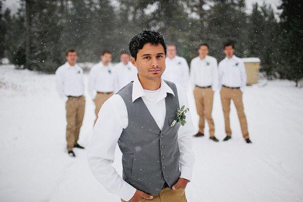 Зимовий образ нареченого: як підібрати стиль, щоб залишатися в тренді