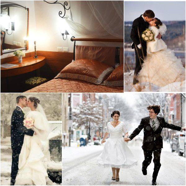 Зимова фотосесія весілля: ефектні ідеї і варіанти